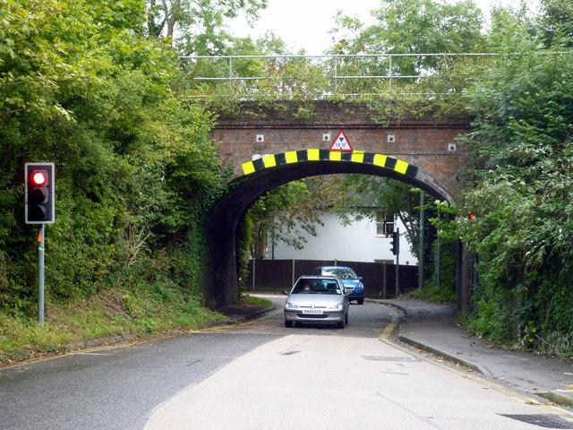 South Merstham:  Railway bridge