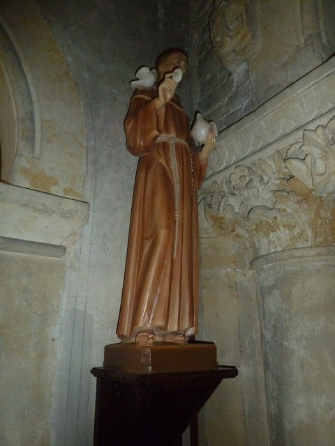 1: inside Our Lady of Martyrs & St. Ignatius (RC) Chideock