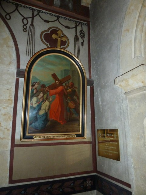 2: inside Our Lady of Martyrs & St. Ignatius (RC) Chideock