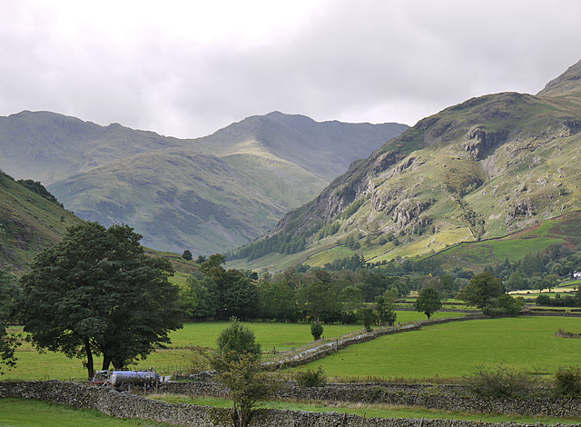 View up Great Langdale