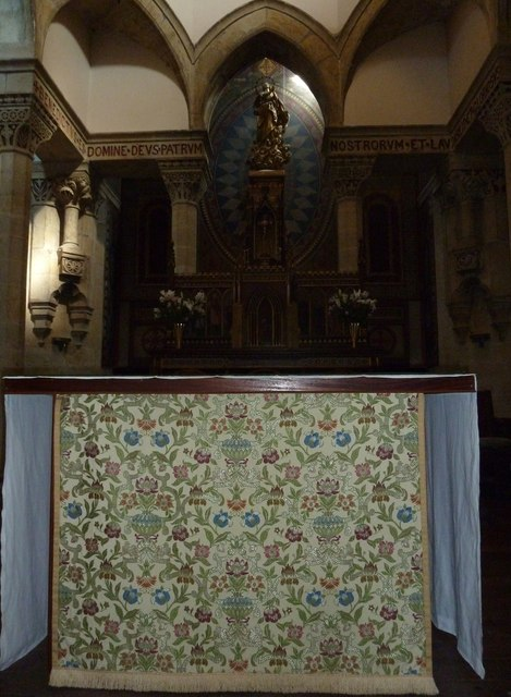 6: inside Our Lady of Martyrs & St. Ignatius (RC) Chideock