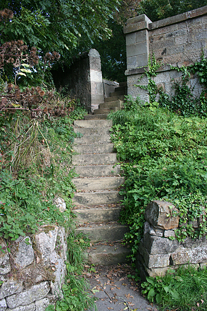 Steps by the Union Canal