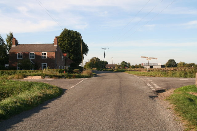 Rookery Farm crossroads