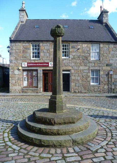 Mercat cross, High Street, Old Aberdeen