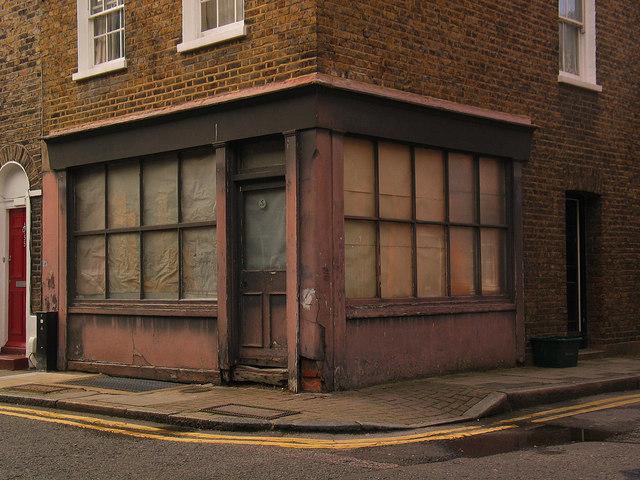Former corner shop, Rawstorne Street