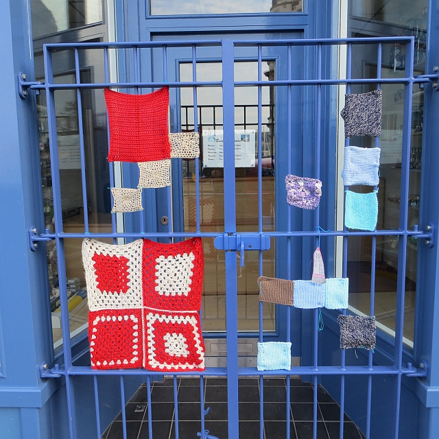 Yarn bombing, Rothesay