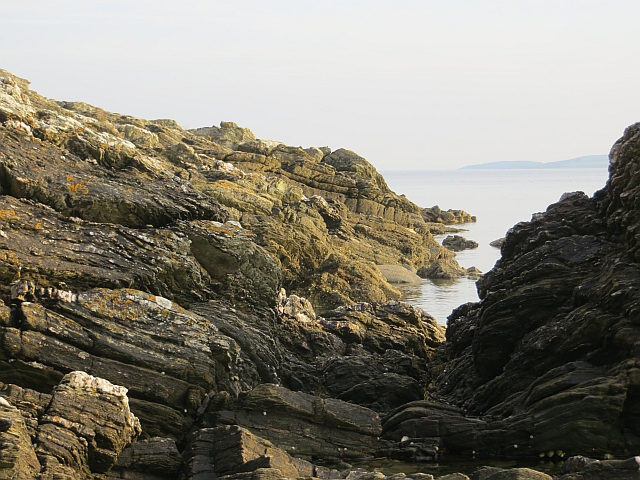 Rocks near Port Glas