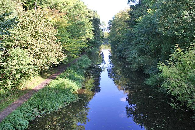 East from Priestinch Bridge