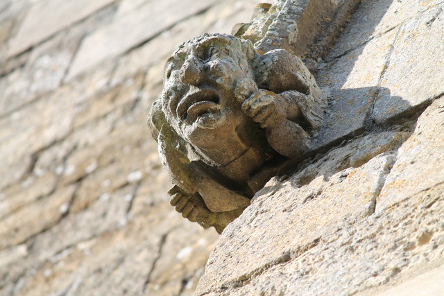 Grotesque, St Peter's church, Navenby