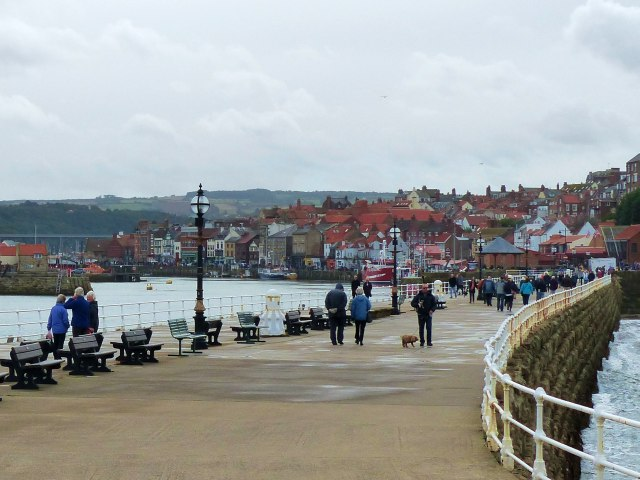 The West Pier, Whitby