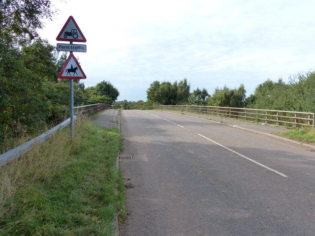 Road bridge across the A42