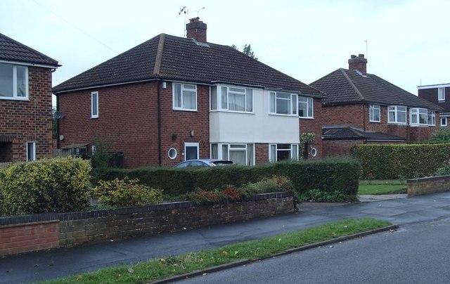 Houses on Montrose Avenue, Lillington