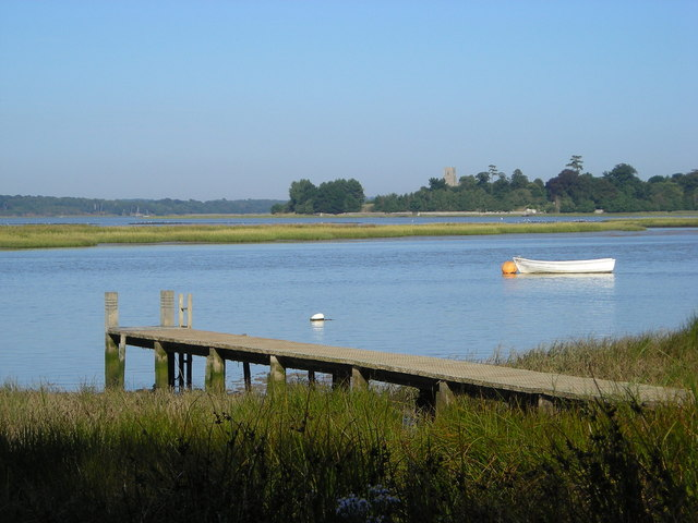 Jetty on the Alde