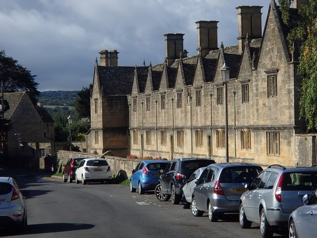 Almshouses on Church Street, Chipping Campden