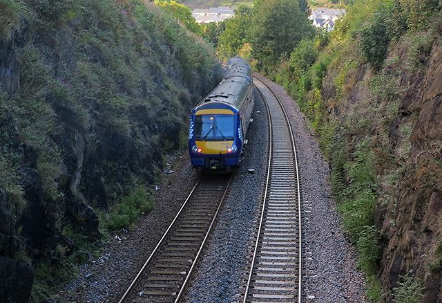 Railway near Burntisland