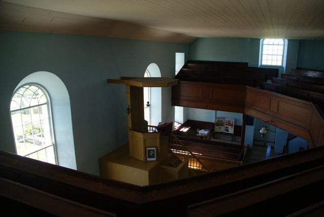 The interior of St Peter's Kirk