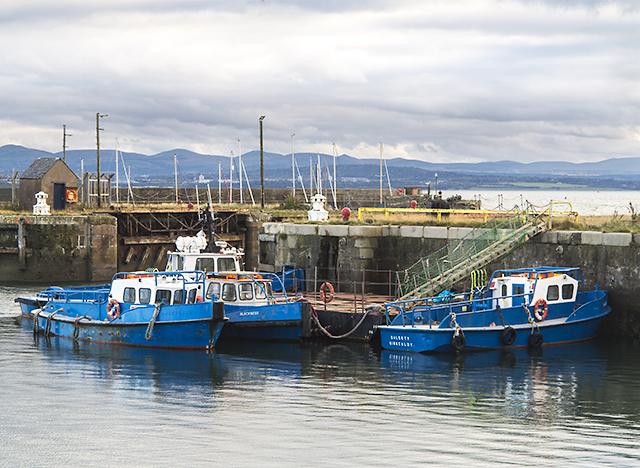 Harbour at Burntisland