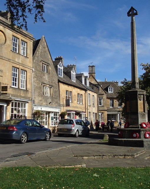 Scene in Chipping Campden