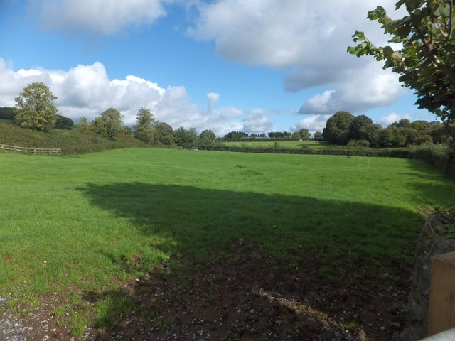 Field beside the A38 near Caton and Goodstone
