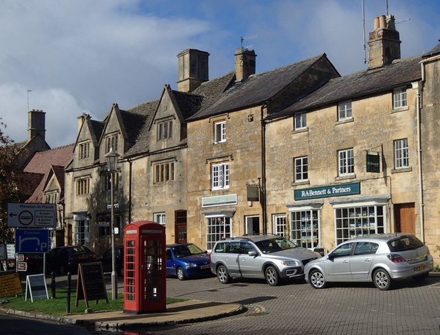 Chipping Campden scene
