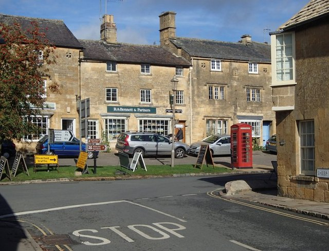 Sheep Street and Lower High Street, Chipping Campden