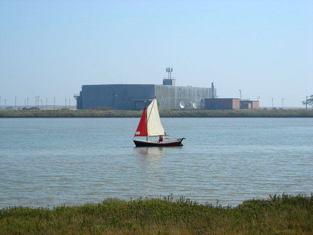 Across to Orford Ness