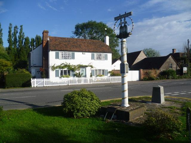 The centre of Biddenden