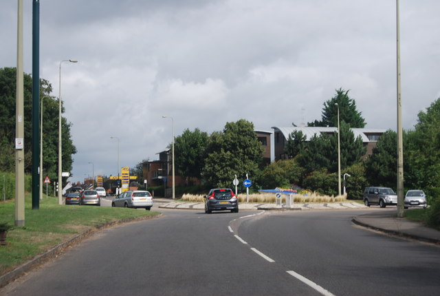 Roundabout, A4155