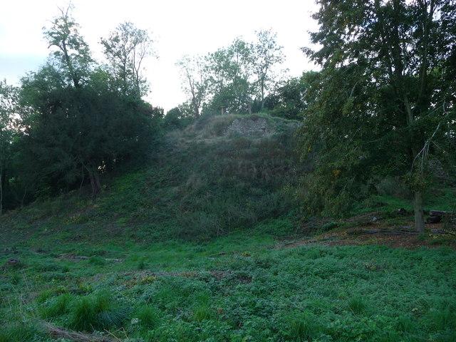 The motte, Richards Castle