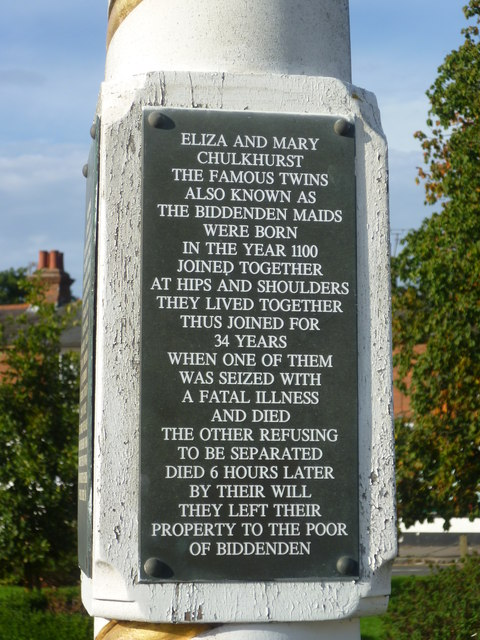 The story of the Biddenden Maids