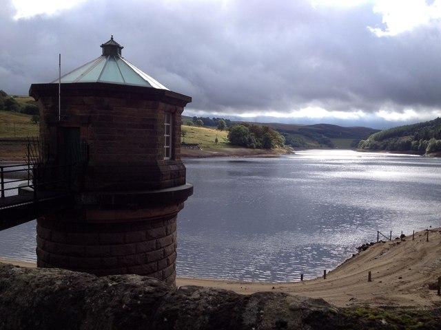 Valve tower, Fernilee Reservoir