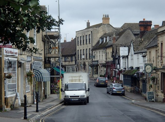 Main street through Winchcombe
