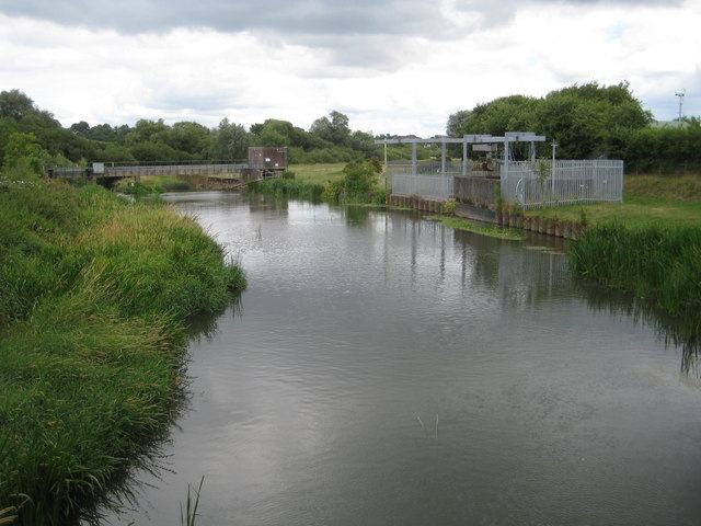 River Rother at Hardham & Site of Hardham Lock