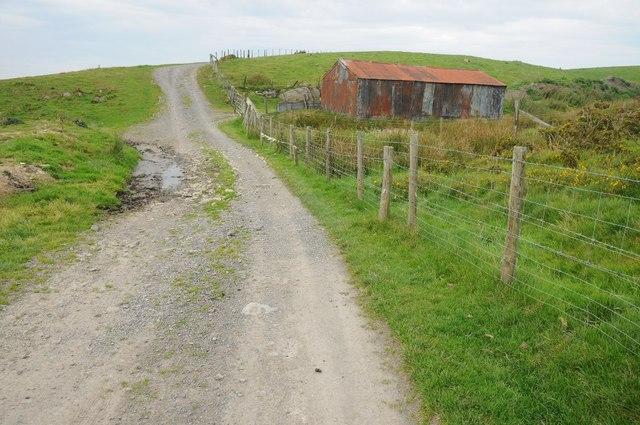 Tin shed near Llyn Mawr