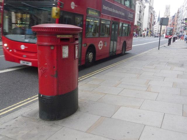 City of London: postbox № EC4 409, Fleet Street