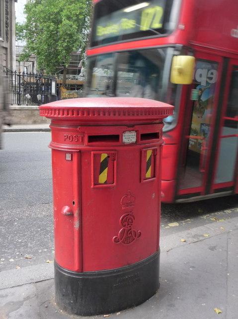 London: postbox № WC2 79, Strand