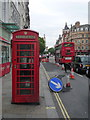 TQ3080 : London: red phone box, 357 Strand by Chris Downer