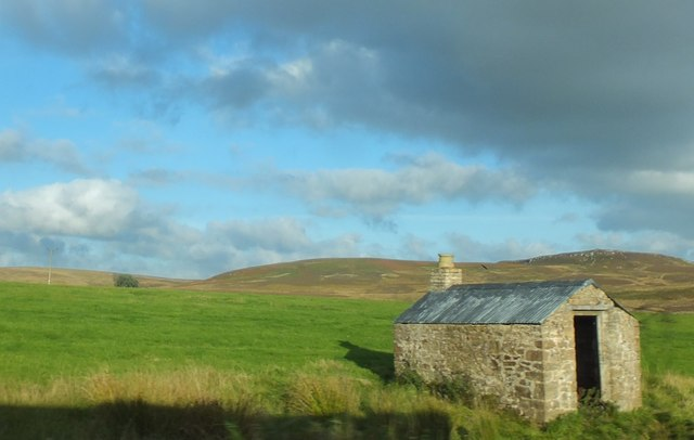 Old shepherd's hut