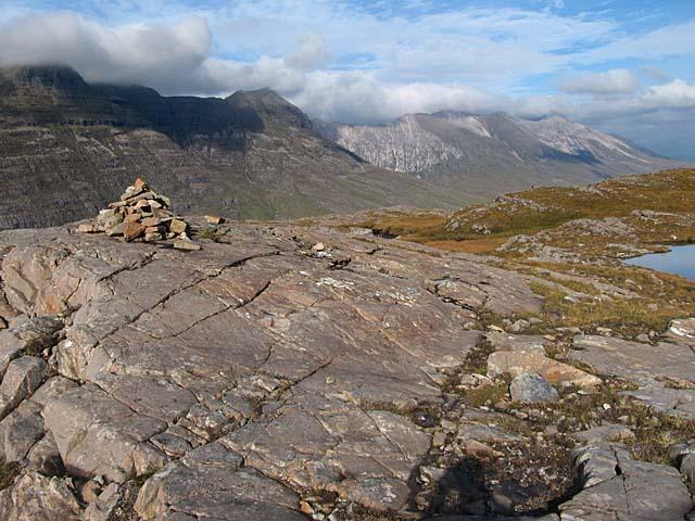 Summit of Seana Mheallan, Torridon