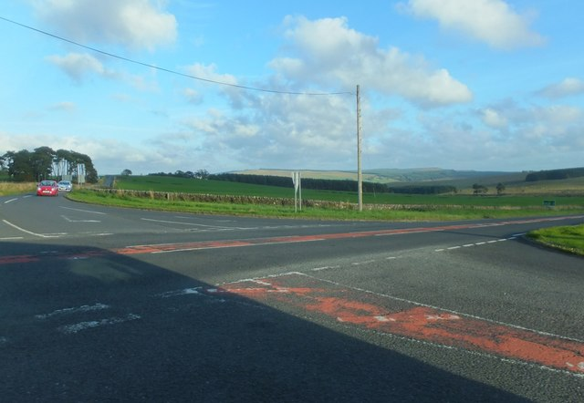 Crossroads, B6320 and A68
