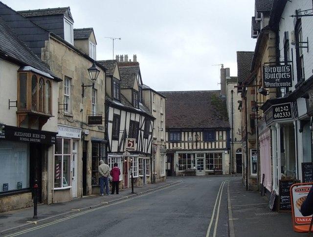 North Street towards Winchcombe High Street