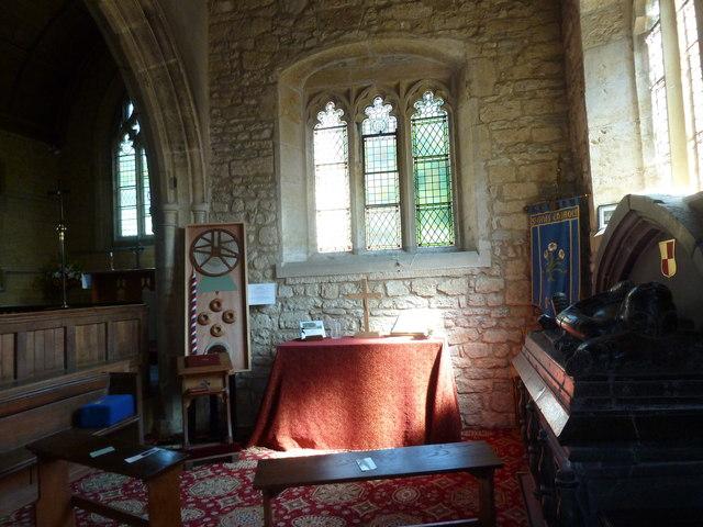 Inside St Giles, Chideock (a)