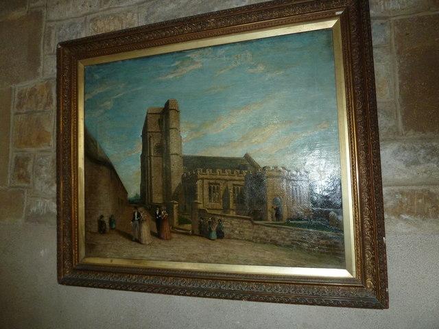 Inside St Giles, Chideock (b)