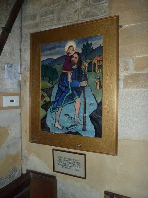Inside St Giles, Chideock (d)