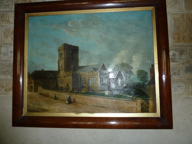 Inside St Giles, Chideock (e)