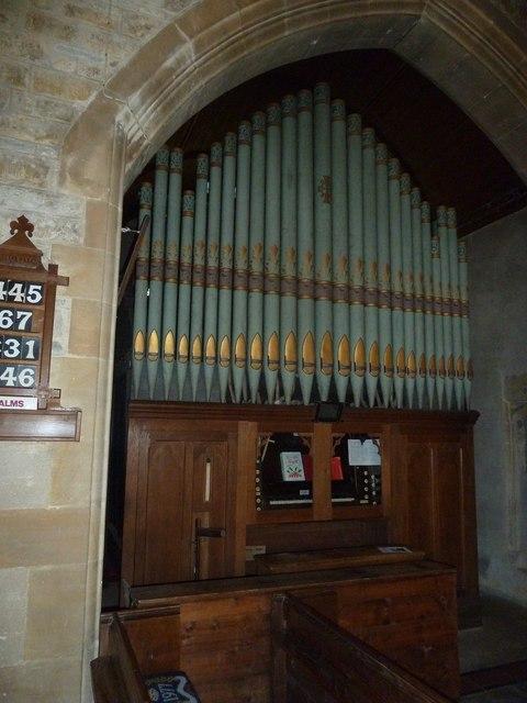 St Giles, Chideock: organ