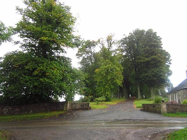 Hilton House driveway