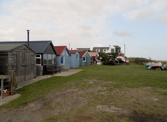 Fishermen's huts at Westhaven