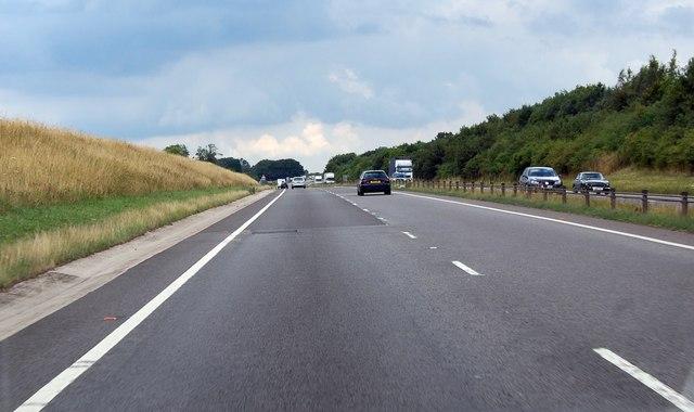 A417 along the Ermin Way