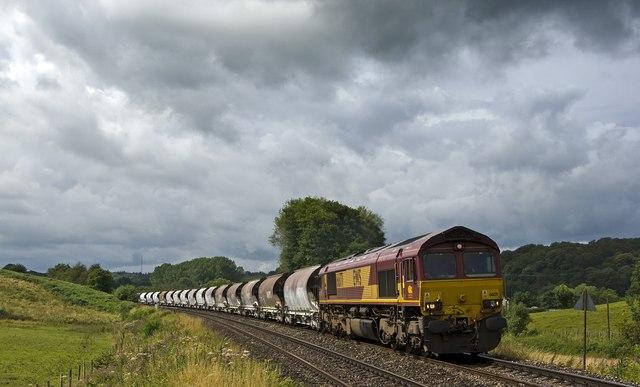 Railway by Pontrilas Saw Mills